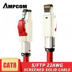 Câble Ethernet AMPCOM Cat8...
