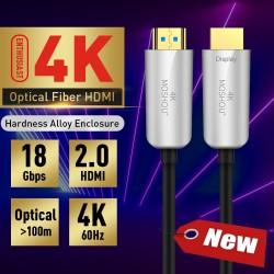 Câble HDMI 2.0 en Fibre...